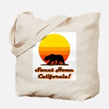 Sweet Home California Tote Bag