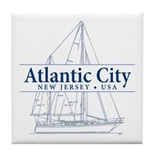 Atlantic City - Tile Coaster