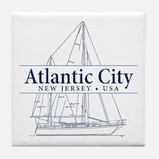 Atlantic City - Tile Coaster