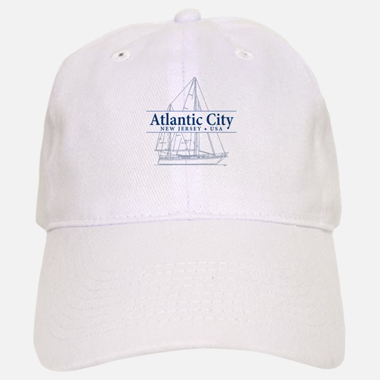 Atlantic City - Baseball Baseball Cap