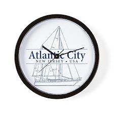 Atlantic City - Wall Clock
