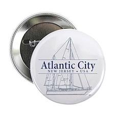 "Atlantic City - 2.25"" Button"
