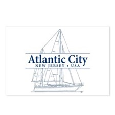 Atlantic City - Postcards (Package of 8)