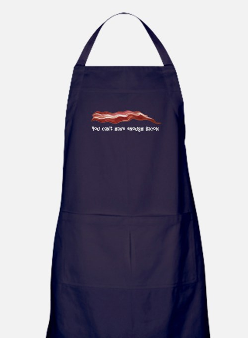 You cant have enough Bacon Apron (dark)