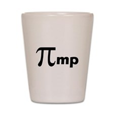 Math Pi Pimp Shot Glass