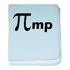 Math Pi Pimp baby blanket