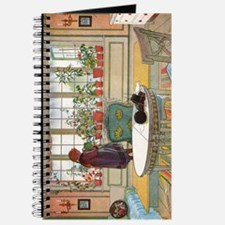 Flowers on the Windowsill by Carl Larsson Journal