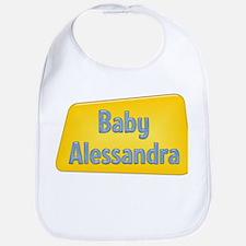 Baby Alessandra Bib