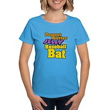 PBJ Baseball Bat Tee