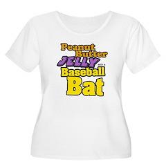 PBJ Baseball Bat T-Shirt
