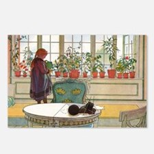 Flowers on the Windowsill Postcards (Package of 8)