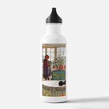 Flowers on the Windows Water Bottle
