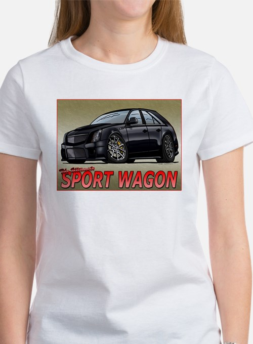 Black CTS-V Wagon T-Shirt