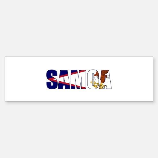American Samoa Bumper Bumper Bumper Sticker