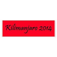 Kilimanjaro 2014 Bumper Sticker