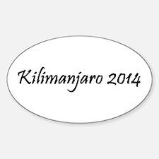 Kilimanjaro 2014 Decal