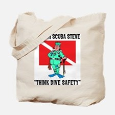 SCUBA Steve Says Tote Bag