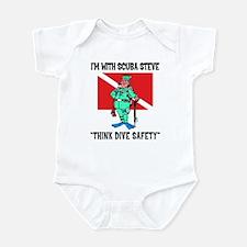 SCUBA Steve Says Infant Bodysuit