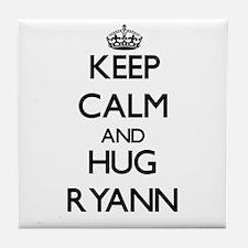 Keep Calm and HUG Ryann Tile Coaster