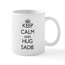 Keep Calm and HUG Sadie Mugs