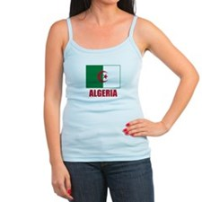 Algeria Flag Jr.Spaghetti Strap