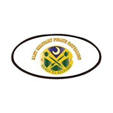 DUI - 51st Military Police Battalion with Text Pat
