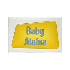Baby Alaina Rectangle Magnet