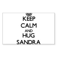 Keep Calm and HUG Sandra Decal