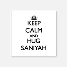 Keep Calm and HUG Saniyah Sticker
