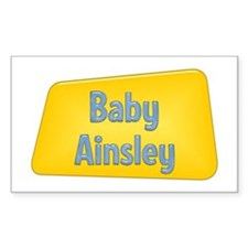 Baby Ainsley Rectangle Decal