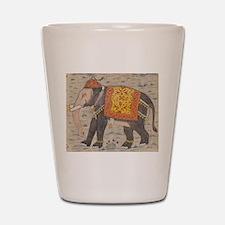 ELEPHANT INDIA Shot Glass