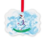 13 1 christmas ornament Picture Frame Ornaments