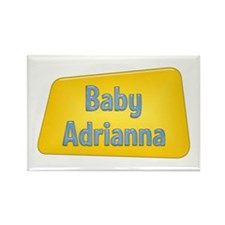 Baby Adrianna Rectangle Magnet