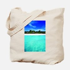 Island from the sea Tote Bag