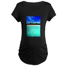 Island from the sea Maternity T-Shirt