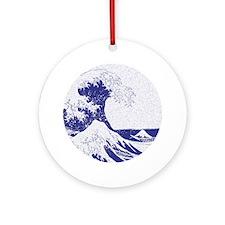 The Great Wave off Kanagawa (?????? Round Ornament
