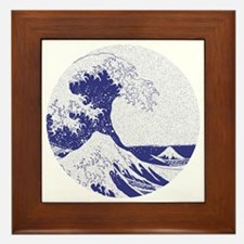 The Great Wave off Kanagawa (??????) Framed Tile