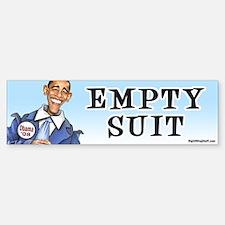 Obama - Empty Suit Bumper Bumper Bumper Sticker