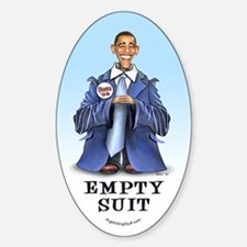 Obama - Empty Suit Oval Decal
