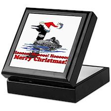 Christmas Loon Keepsake Box