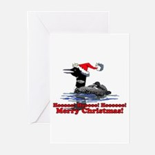 Christmas Loon Greeting Cards (Pk of 10)