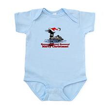 Christmas Loon Infant Bodysuit