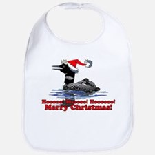 Christmas Loon Bib