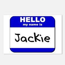 hello my name is jackie  Postcards (Package of 8)