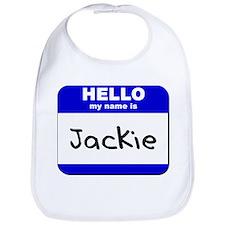 hello my name is jackie  Bib