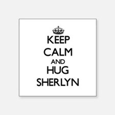 Keep Calm and HUG Sherlyn Sticker