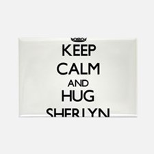 Keep Calm and HUG Sherlyn Magnets
