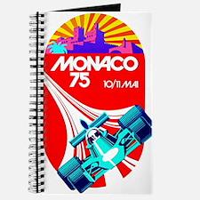 Vintage 1975 Monaco Grand Prix Race Poster Journal