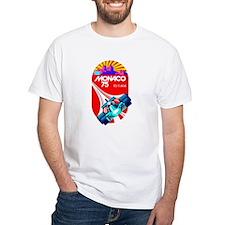 Vintage 1975 Monaco Grand Prix Race Poster T-Shirt