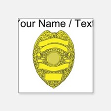 Police Badge Sticker